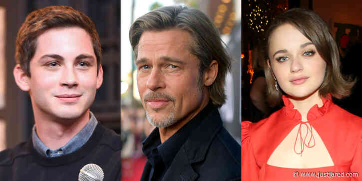 Logan Lerman Joins Cast of 'Bullet Train' with Brad Pitt & Joey King!
