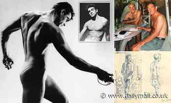 1950s sketches of a naked Sean Connery are shared by Hunter Davies