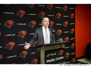 B.C. Lions excited about CFL schedule release, squad set to start June 12