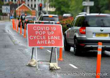 This is when Horsham pop-up cycle lanes will be removed - West Sussex County Times