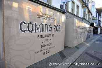 Restaurant chain announces opening of a new branch 'soon' in Horsham town centre - West Sussex County Times