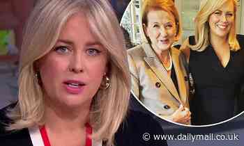 Samantha Armytage was 'dumped' by her manager one day after her mother Libby's tragic death
