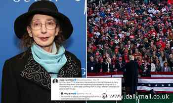 Joyce Carol Oates launches scathing attack on Trump supporters, blasting their approach to COVID
