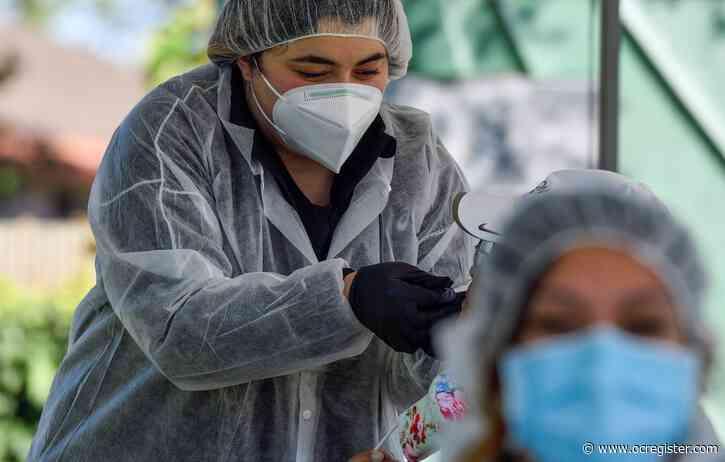 Orange County reports most single-day coronavirus cases since July surge