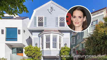 Photos: Winona Ryder asks $5 million for Dutch Colonial San Francisco home - The Mercury News