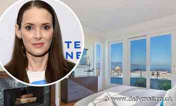 Winona Ryder lists San Francisco Dutch Colonial with three bedrooms and stunning bay views for $5M - Daily Mail