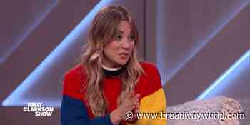 VIDEO: Kaley Cuoco Reacts To Husband Recording Her Sleeping on THE KELLY CLARKSON SHOW - Broadway World