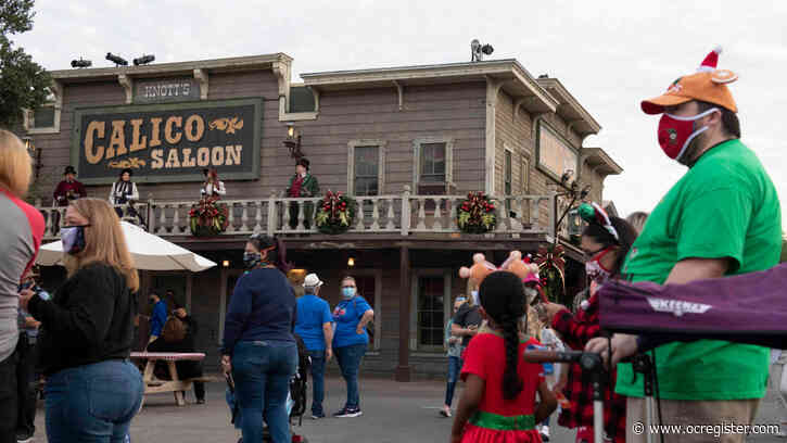 Knott's Merry Farm: What it's like to be in a theme park right now