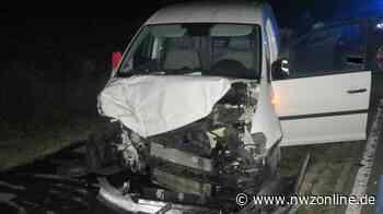 Unfall in Westerstede: Fünf Verletzte nach Überholmanöver - Nordwest-Zeitung