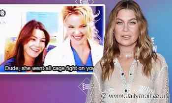 Ellen Pompeo shares throwback GIF of herself and Katherine Heigl amidIsaiah Washington feud