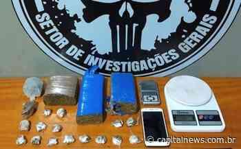 Suspeito de tráfico é preso em Aparecida do Taboado - Capital News