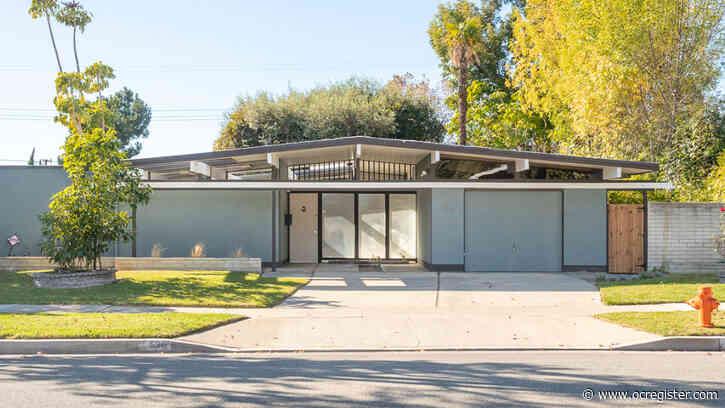 2 Fairhaven Eichler homes for sale in Orange, seeking $1 million-plus