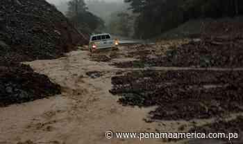 Reportan deslizamiento de tierra en Los Planes de Gualaca - Panamá América