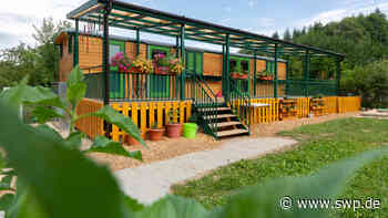 Waldkindergarten in Salach: Waldwagen Frieda kommt - SWP