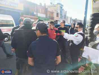 Policía de Morelia y SEMOVEP promueven movilidad en obras de distribuidor vial Mil Cumbres - El Diario Visión