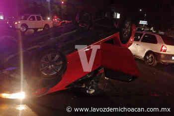 Accidente en Calzada La Huerta deja 3 personas heridas, en Morelia - La Voz de Michoacán