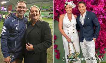 Cameron Smith addresses rumours of Barb's spat with Billy Slater's wife