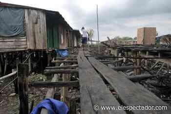 Cerca de 500 familias fueron desplazadas del Bajo Baudó (Chocó) - El Espectador