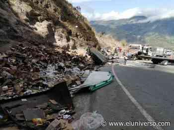 Tres personas mueren tras accidente de tránsito en la vía Pelileo - Baños - El Universo