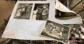 Creepy portraits and family photos found in London house abandoned 30 years ago