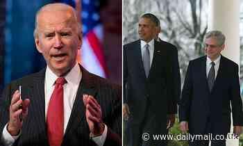 Joe Biden is considering Merrick Garland as Attorney General