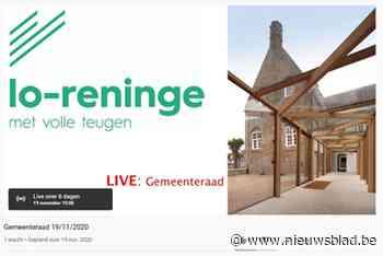 Dan toch eerste digitale gemeenteraad voor Lo (Lo-Reninge) - Het Nieuwsblad