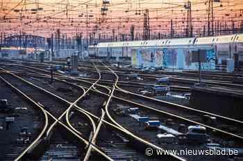 Schade aan bovenleiding in Dendermonde is hersteld en dus kunnen treinen weer rijden