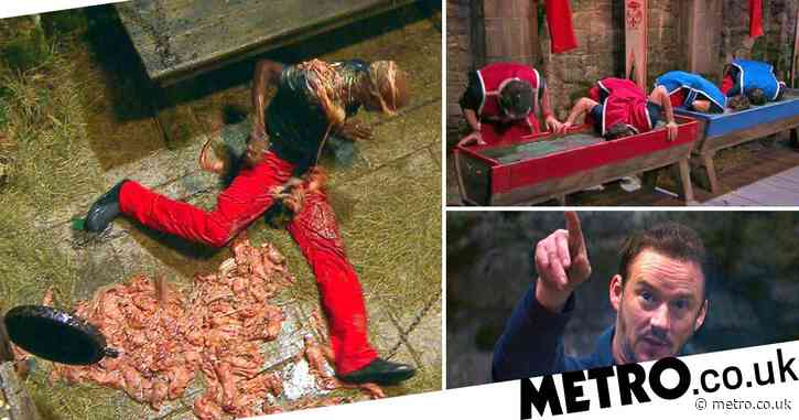 I'm A Celebrity recap: Sir Mo Farah gets covered in fish guts and the celebs take on their first live trial