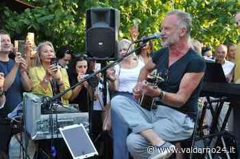 """Il cantautore Sting sabato sera sarà premiato al festival """"Motumundi"""" di Cavriglia per il suo impegno nell'ambiente - Valdarno24"""