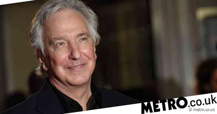 Alan Rickman's handwritten diaries spanning 25 years to be published as one book