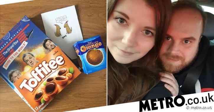 Couple who met and found love via Reddit's Secret Santa now living together