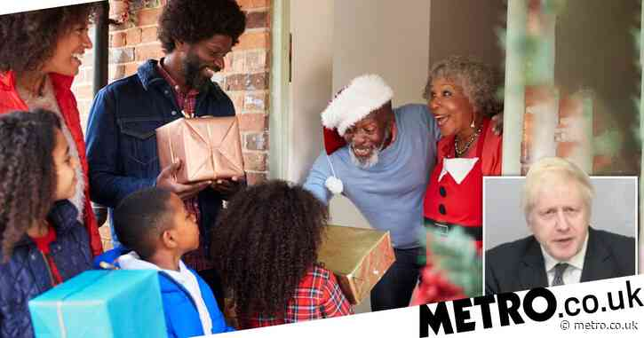 Plans to allow several families to mix at Christmas 'to be announced next week'