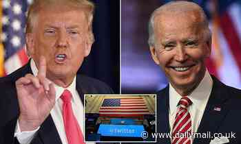 Twitter will hand control of US president's official account to Joe Biden on January 20