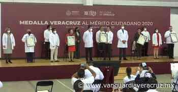 (Vídeo) Personal médico de Poza Rica y Tuxpan recibe medallas Veracruz al mérito ciudadano - Vanguardia de Veracruz
