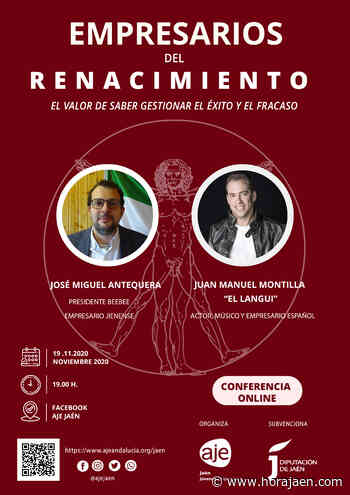 «El Langui» y José Miguel Antequera hablan de éxito y fracaso con empresarios jiennenses - HoraJaén