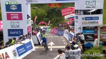 Suaza se lleva la sexta etapa y Camargo sigue líder de la Vuelta a Colombia - Antena 2