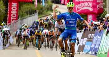 Antioqueño Bernardo Suaza, primer líder de la Vuelta a Colombia - El Colombiano