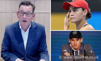 Australian Open could be CANCELLED or stars may boycott as Dan Andrews refuses to set a date