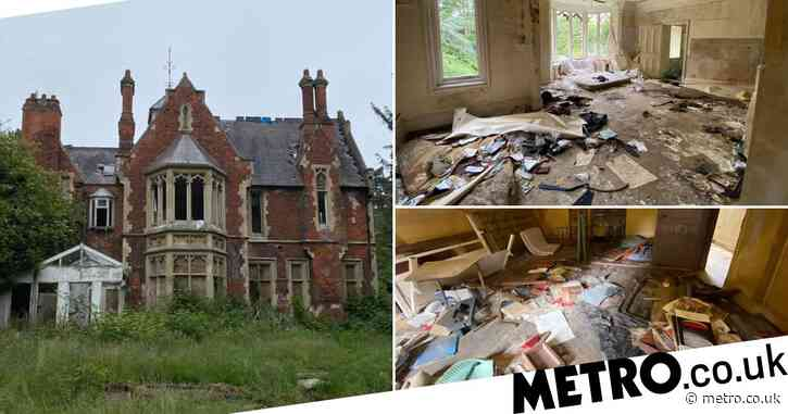 Urban explorer stumbles upon creepy mansion that's been abandoned for 30 years
