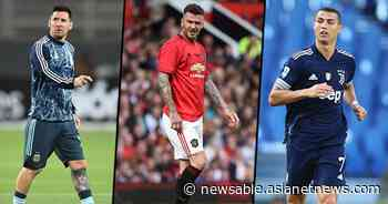 From Cristiano Ronaldo to Lionel Messi and David Beckham: 6 richest footballers in the world - Asianet News Newsable