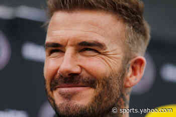 David Beckham takes up new lockdown hobby: How to play Jianzi - Yahoo Sports