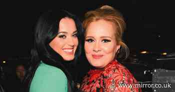 Katy Perry mistaken for slimmed down Adele as she unveils new blonde look