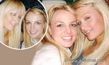 Paris Hilton marks 14-year anniversary of 'inventing the selfie' in a snap alongside Britney Spears