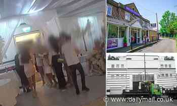 Wedding venues forced to shut down for three months after holding illegal parties during lockdown