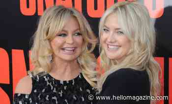 Goldie Hawn celebrates 75th birthday with daughter Kate Hudson - and she looks incredible!