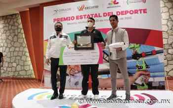 Ángel Alvarado recibe Premio Estatal del Deporte - El Sol de Zamora