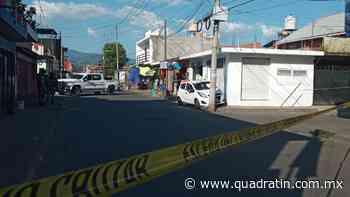 Matan a tiros a un hombre al Oriente de Uruapan - Quadratín - Quadratín Michoacán