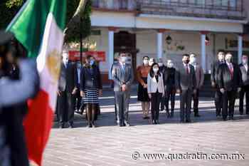 Conmemoran en Uruapan el 110 aniversario del inicio de la Revolución - Quadratín - Quadratín Michoacán