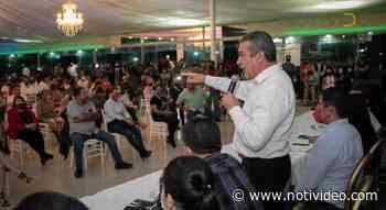 Nacho Campos y cientos en Uruapan, anuncian su respaldo a Raúl Morón - Notivideo