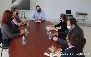 Trabaja DIF Uruapan en estrategias coordinadas con Fiscalía - Quadratín - Quadratín Michoacán